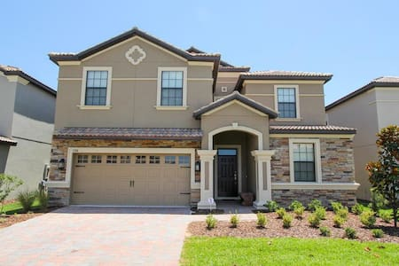 Champions Gate - Pool Home 8BD/5BA - Sleeps 19 - Platinum - RCG848 - Four Corners