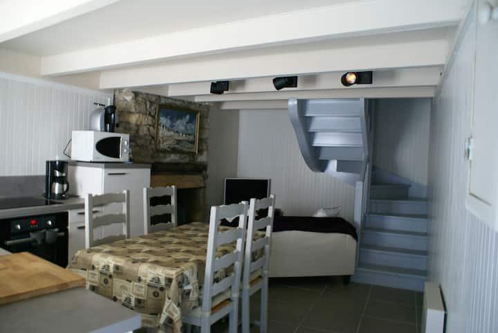 Maison de pêcheur typique de l'ile de Sein