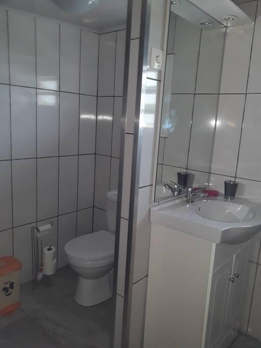 Wc et lavabo  privé