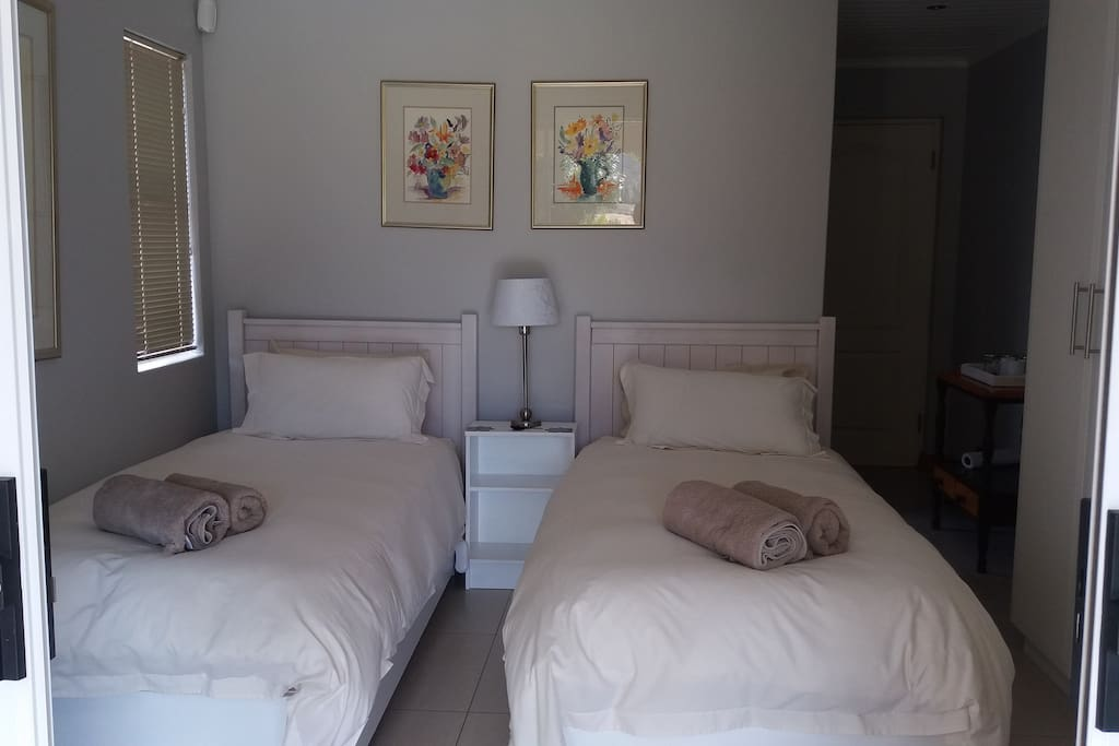 Room 18th. Can be two single beds or one large double bed