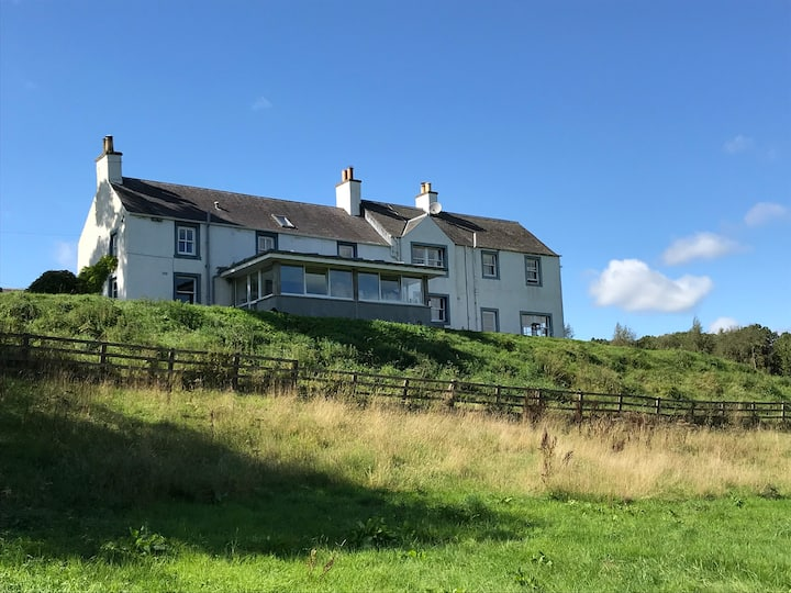 Secluded rural B&B in the Scottish Borders