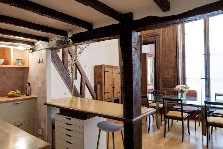 Charming Duplex - Lelong - Parigi - Appartamento
