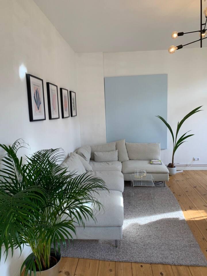 Gemühtliche Wohnung mit Südbalkon