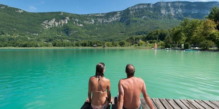 MOBIL❤️VE Suite Romantique /  Lac d'aiguebelette