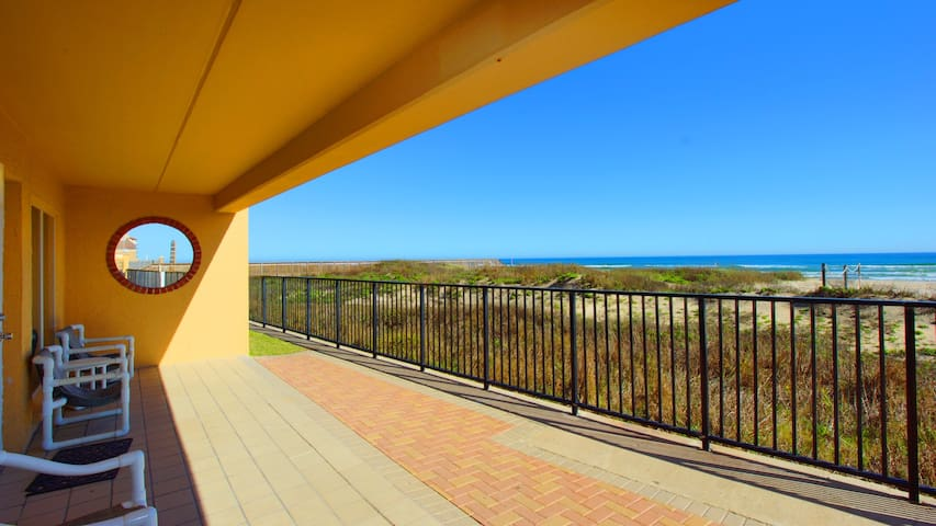 You can't get closer to the beach than this! This property is professionally maintained and managed by TurnKey Vacation rentals.