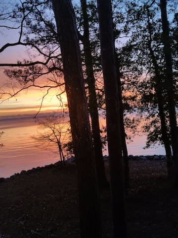 Sunrise  from kitchen window