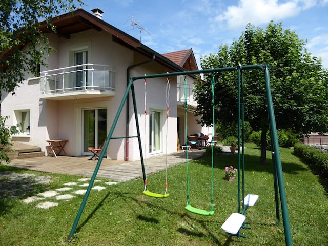 Villa contemporaine Panorama val des Usses