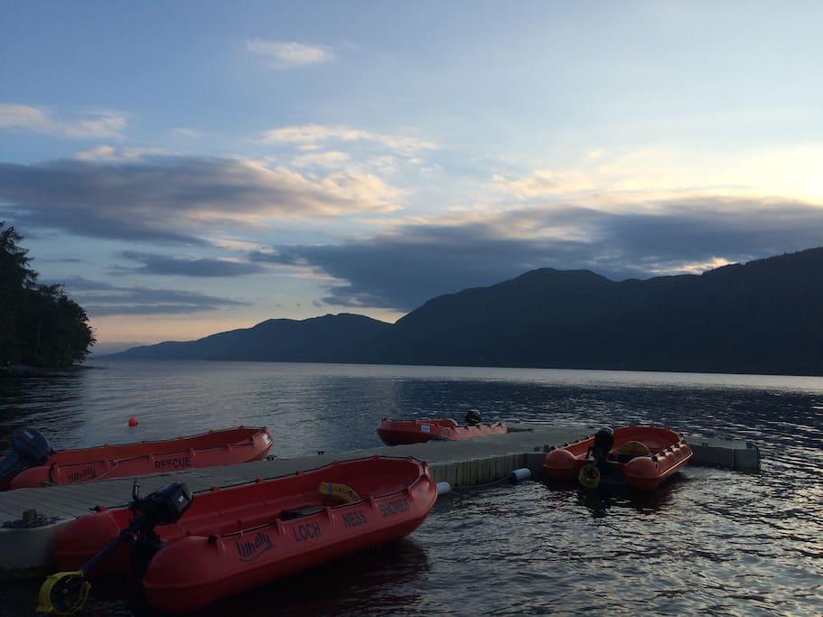 Loch Ness, 2 minutes' walk