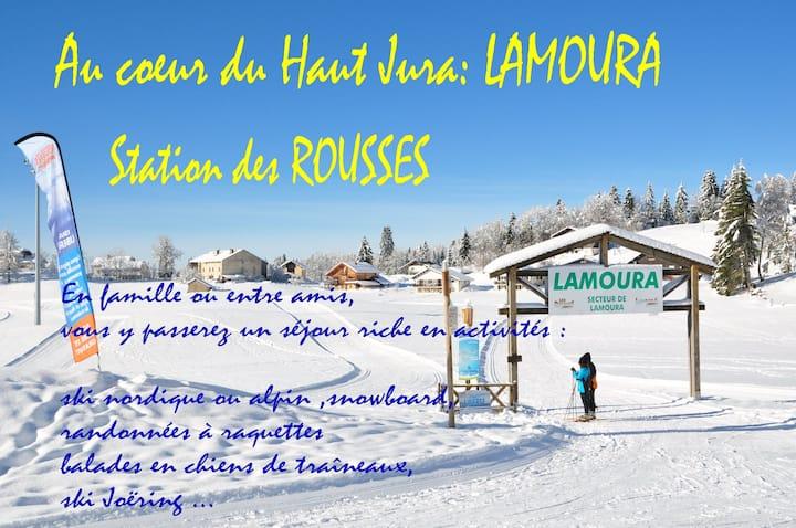 Appt 5/6 pers** LAMOURA/Les ROUSSES Ht JURA