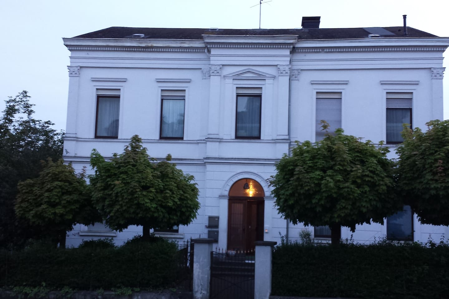 feel well in 1875 neoclassicist style house
