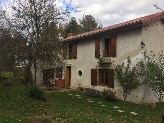 Chambre privative au calme - Chenay-le-Châtel - Hus