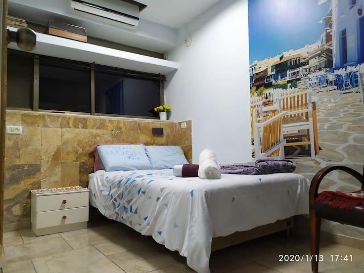 ♥Ahuzat Shaul ♥ 2 Guests Dan ♥ Hadera Center♥