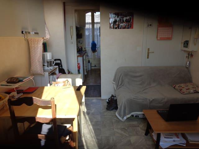Chambre pour une ou deux personnes dans appart - Arcueil