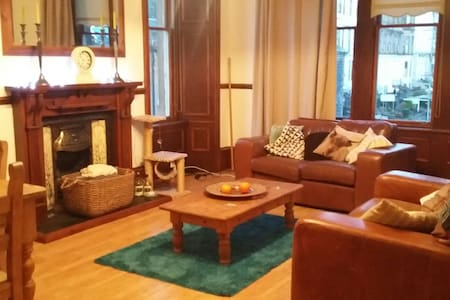 Spacious central Glasgow flat - Apartamento