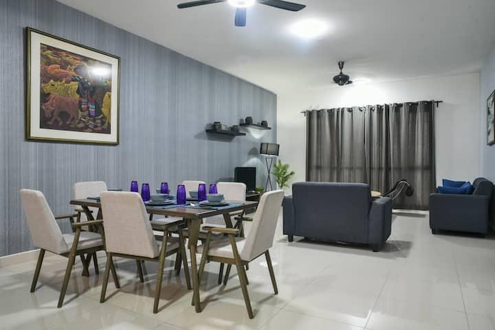 DaMen HomeStay@Subang Jaya USJ 1/Sunway A*9*8 4PAX