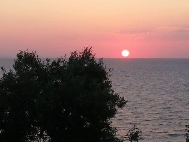 Private balcony to the AEGEAN SEA - Luxury villas - Larisa - House