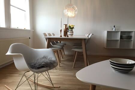 Great apartment with view & balcony - Tórshavn