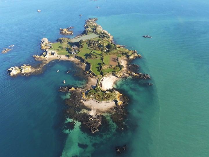 Demeure de charme sur île privée
