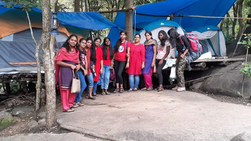trekking and tent stay in wayanad