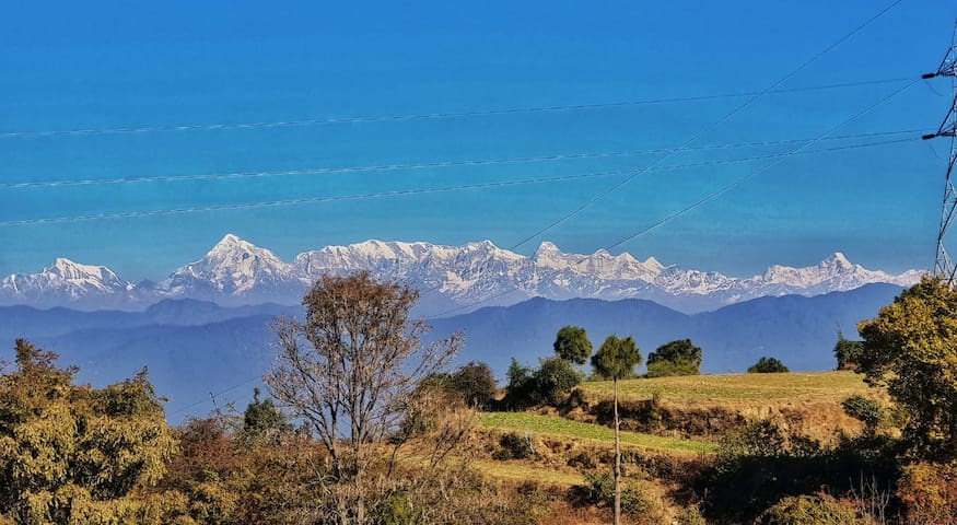 The complete range - including Nanda Devi (The highest peak in India)