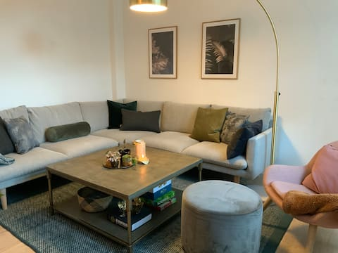 Ideel for a couples-getaway in the city