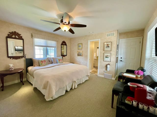 Welcome to our home and private guest suite in beautiful Niagara-on-the-Lake!