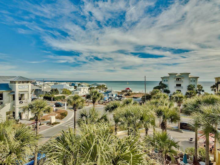 Stunning Penthouse with Ocean Views-Gulf Place-30A