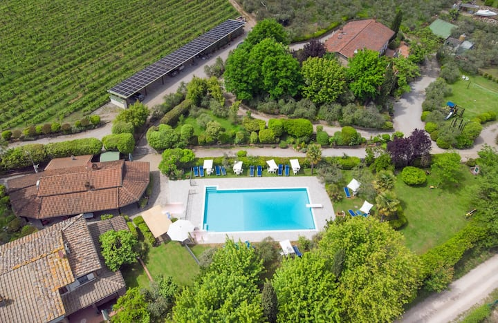 Apartment Villa Chianti Pool WiFi Air Cond. (A)