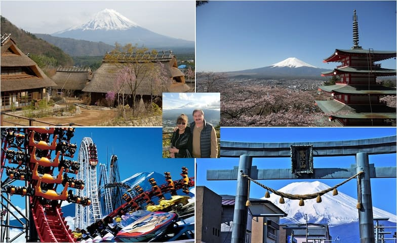 "Mt Fuji Hostel Michaels Western Style Private ""P2"" - Fujiyoshida-shi"