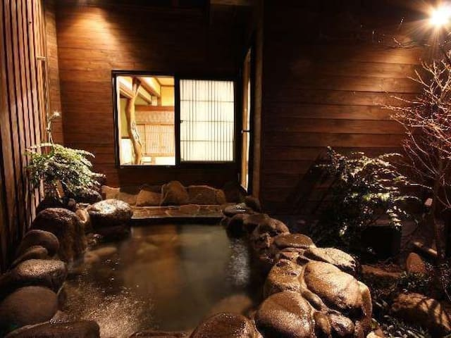 With open air bath! near to Aso shrine, hotel that serves famous traditional cuisines[Breakfast included]