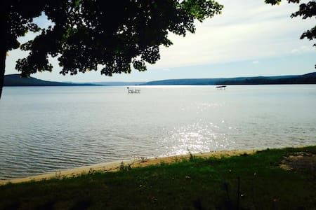 Sandy Haven -  Beachfront Getaway on Glen Lake