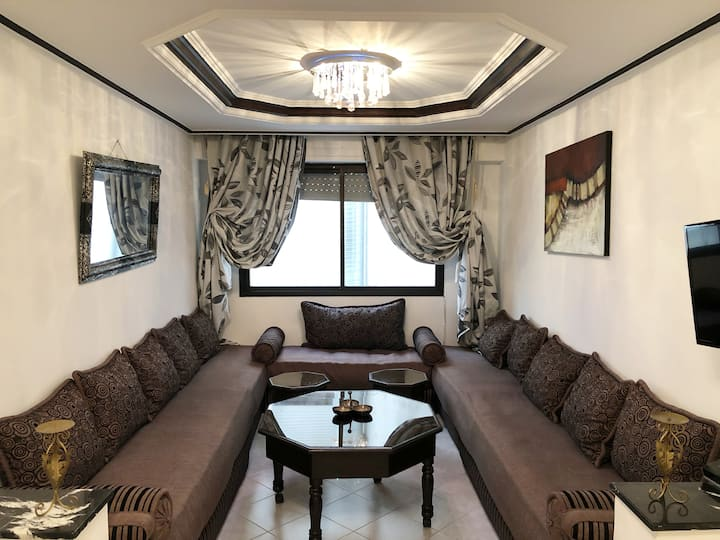 Luxurious apartment on Tangier's corniche