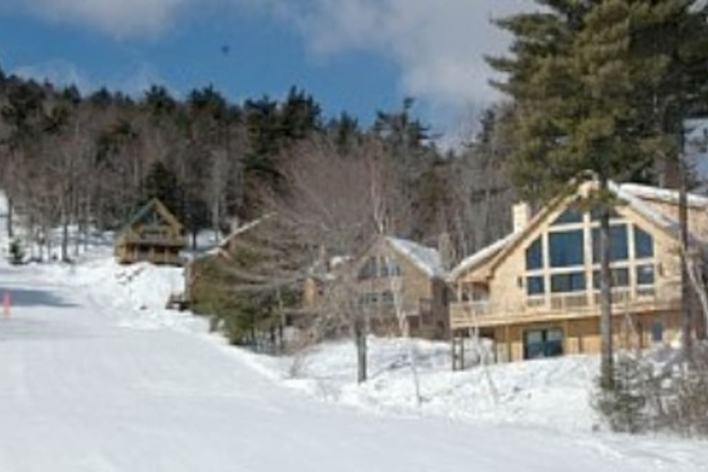 Located Trailside on Mohawk Trail Offers Slopeside Simplicity During Ski Season