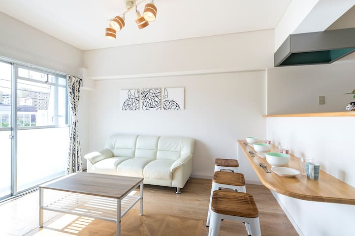 15 min walk from Hakata sta. 306