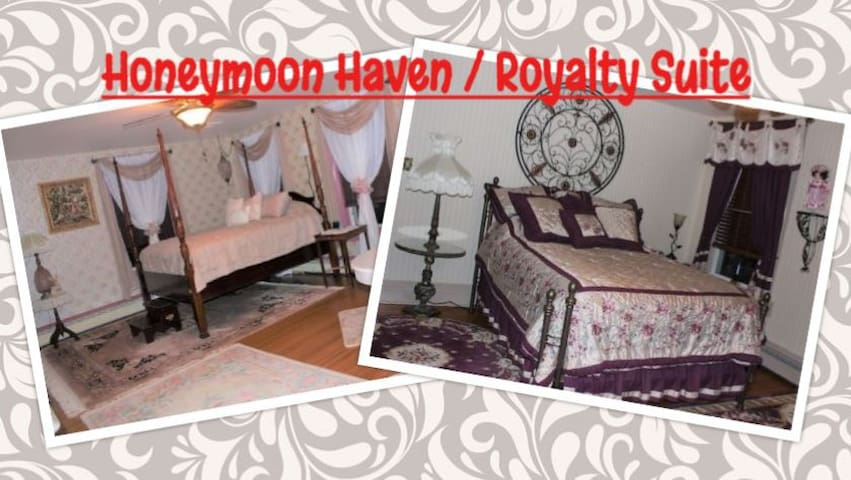 Carriage Stop Bed & Breakfast - Honeymoon Haven/Royalty Suite