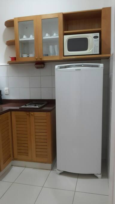 Cozinha prática e funcional