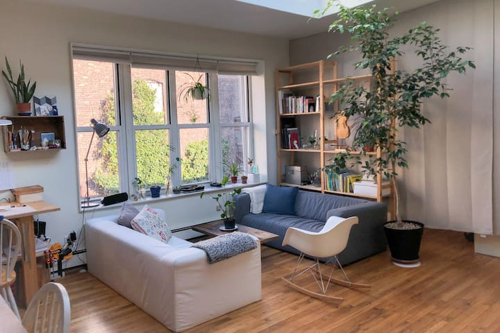 Amazing apartment close to midtown with skylight