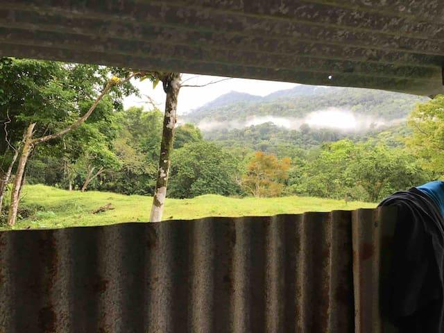 """Cabin """"Choza del Guabo"""" - Valle La Bruja"""