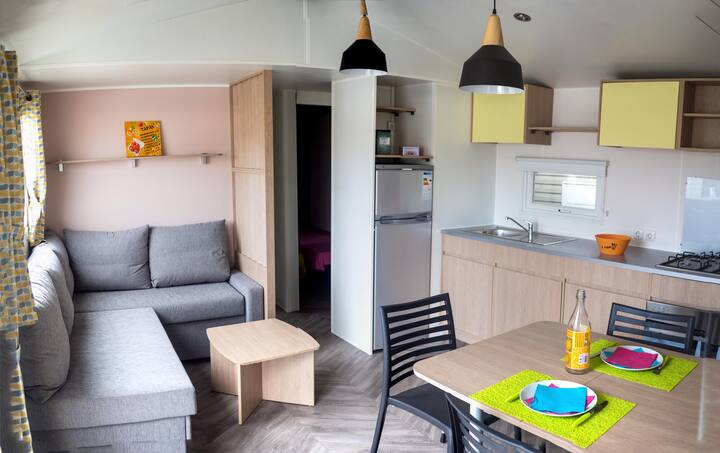 Mobil Home familial 3 chambres ****