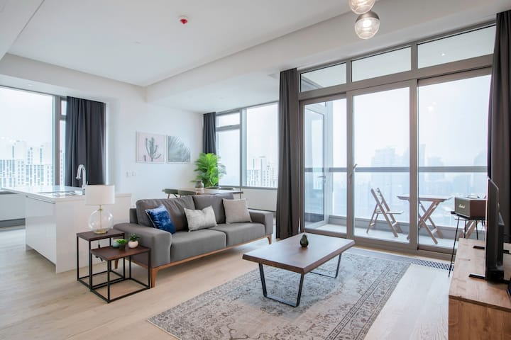 Spacious 2BR at 42 Maslak with Pool & City View