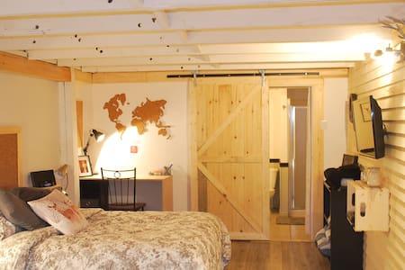 Chaleureux loft dans Vieux-Limoilou - Ville de Québec - Byt