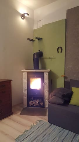 Quiet flat with fireplace in central Tartu
