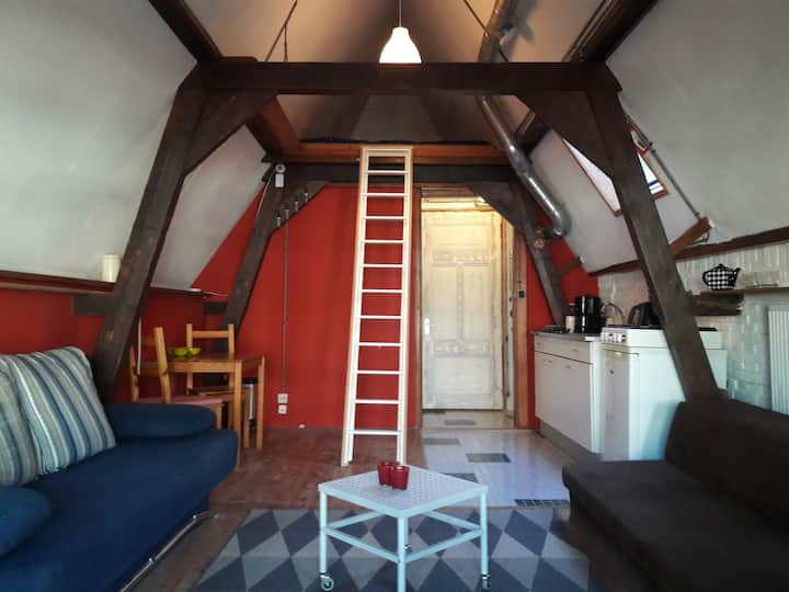 Cosy loft (up to 6 p.) in Groningen city centre