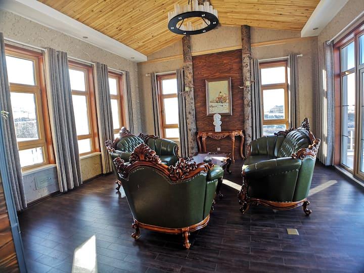 月姐姐  推荐    新疆乌鲁木齐丝绸之路滑雪场内整 栋精装别墅 超大共享空间