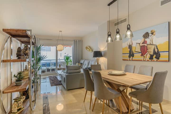 Apartamento centro de Marbella 50 m de la playa
