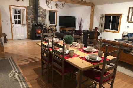 Cozy chalet right in skiing,biking& nature country