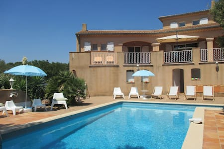 Superb Family Villa Typically Calm Provence - Uchaux - Maison