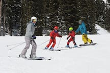 World class skiing and snowboarding at Taos Ski Valley.