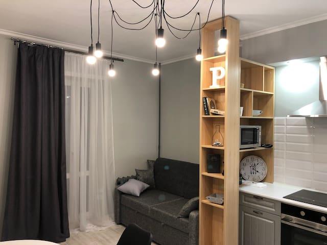 Новая Большая квартира в Скандинавском стиле