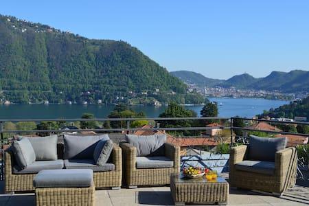 Villa esclusiva con terrazza sul lago di Como - Cernobbio